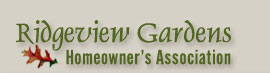 Ridgeview Gardens Homeowners Association